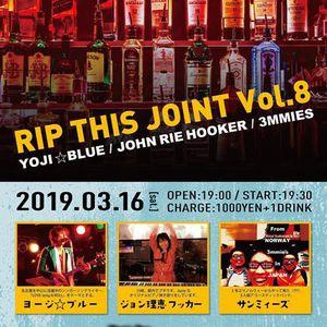 3/16(土) RIP THIS JOINT Vol.8【ライブ】
