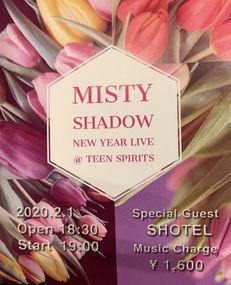 2/1(土) MISTY SHADOW NEW YEAR LIVE